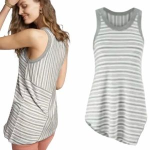 Cabi Side Out Tank Striped Gray 5394